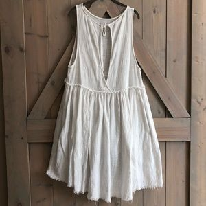 Free People oversized babydoll dress lagenlook